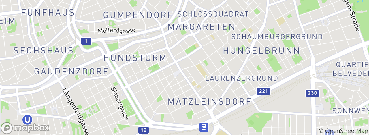 Garden Court:Siebenbrunnengasse 48 - Location